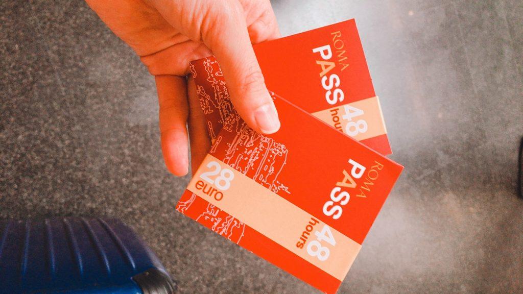ローマ 駅 ローマパス ROMA PASS