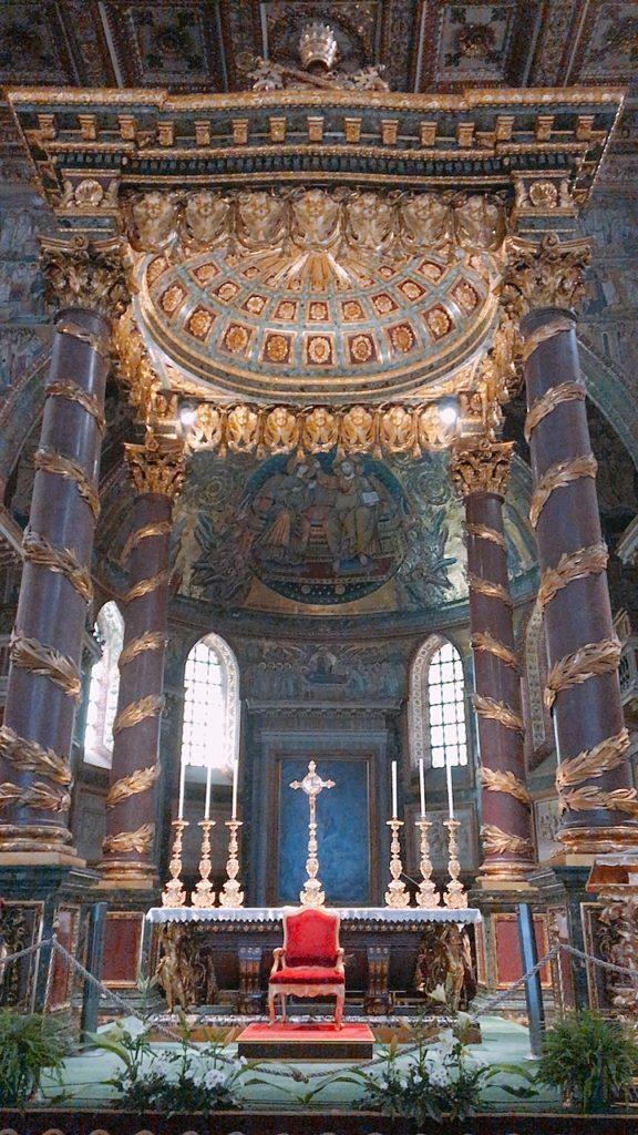 サンタ マリーア・マッジョーレ教会 ローマ教会