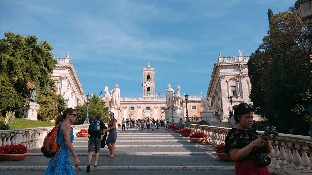 カンピドーリオ広場 ローマ