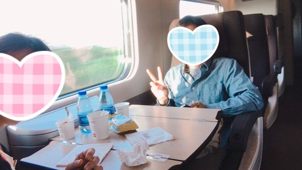 ローマ イタリア 電車 一等車 グリーン席