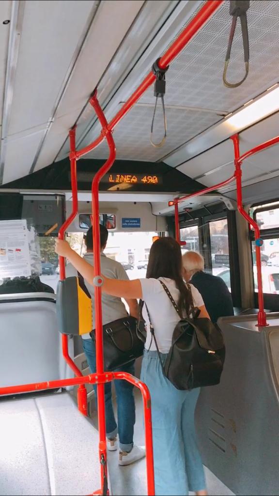 ローマ バチカン バス