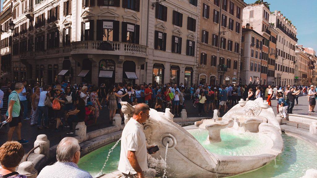 スペイン広場 ローマ イタリア 観光
