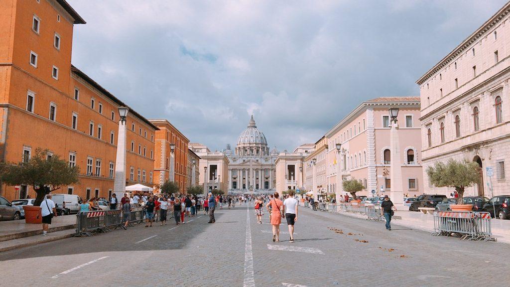 ヴァチカン市国 観光 ローマ