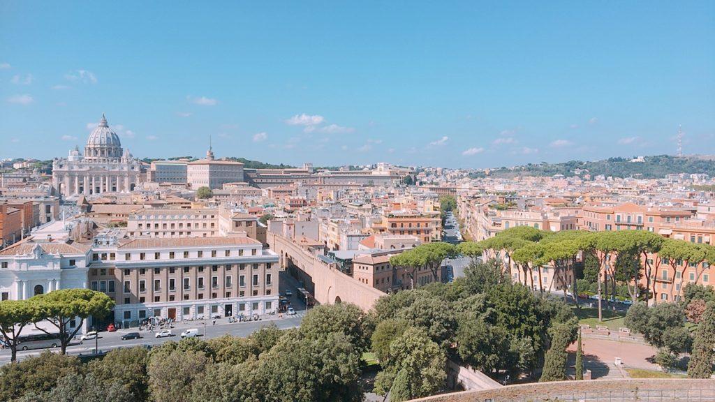サンタンジェロ城 景色 ローマ