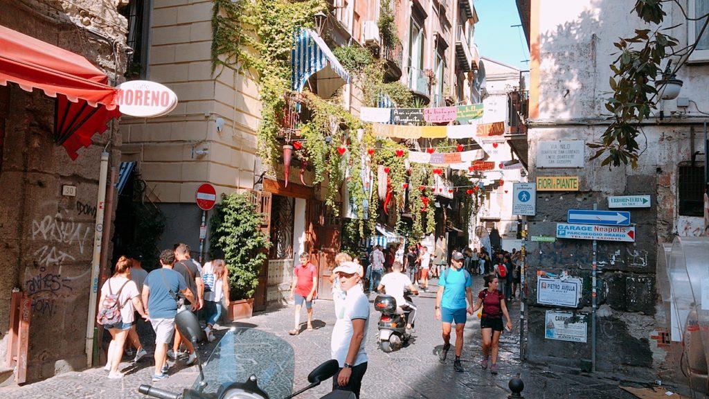 ナポリ 観光 街並み