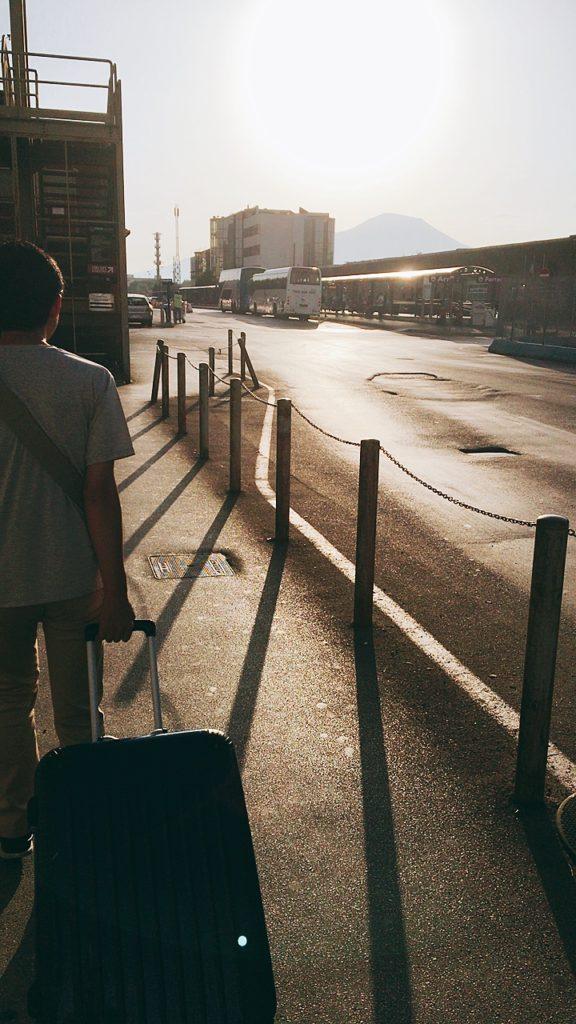 ナポリ バスターミナル ナポリセントラル