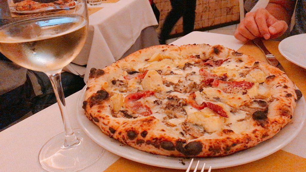 イタリア ピザ ローマ