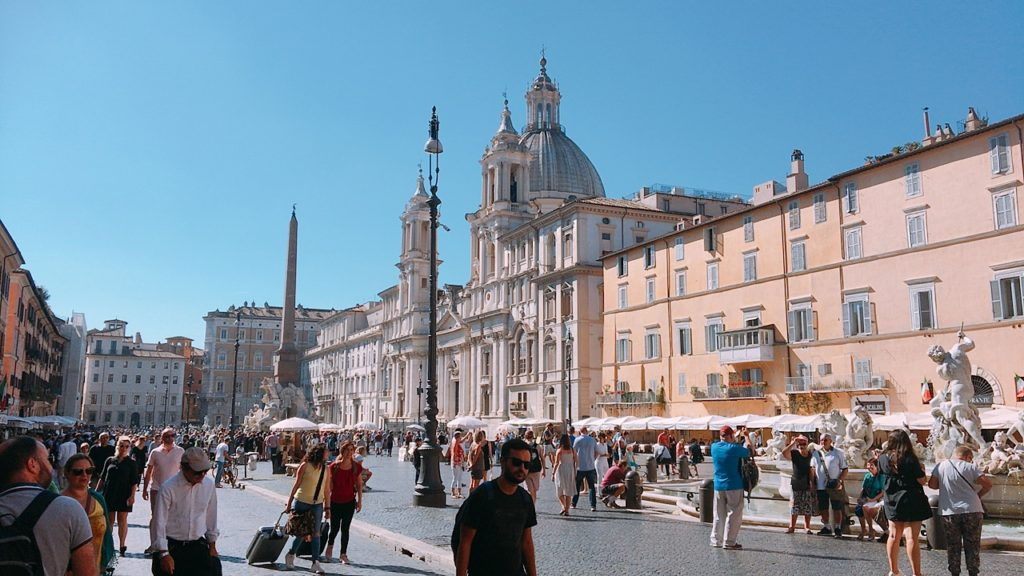 Piazza Navona ナボーナ広場 ローマ