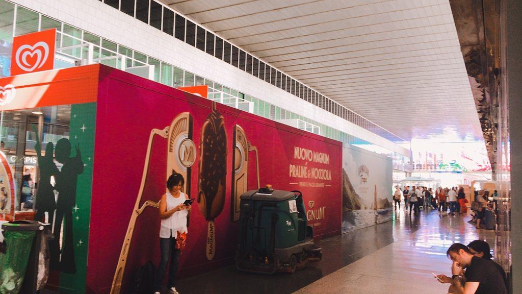 イタリア テルミニ駅
