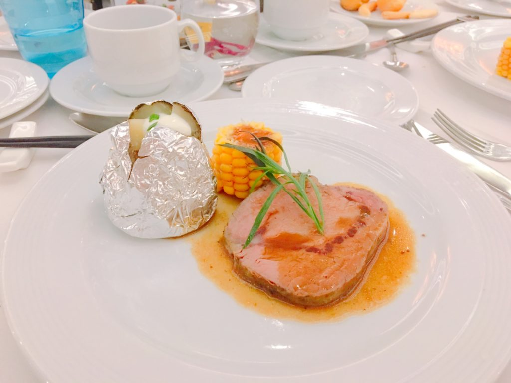 コスタクルーズ 晩御飯 レストラン コスタ 日本海クルーズ 日本海 クルーズ 食事