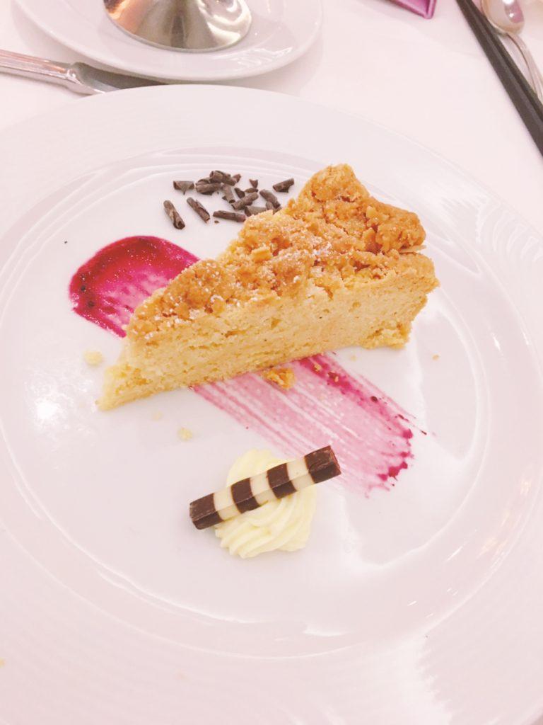コスタクルーズ ディナー ケーキ