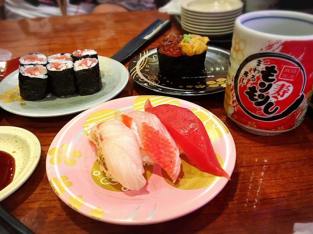 金沢 石川県 近江町 近江町市場 寿司 鮨 金目鯛
