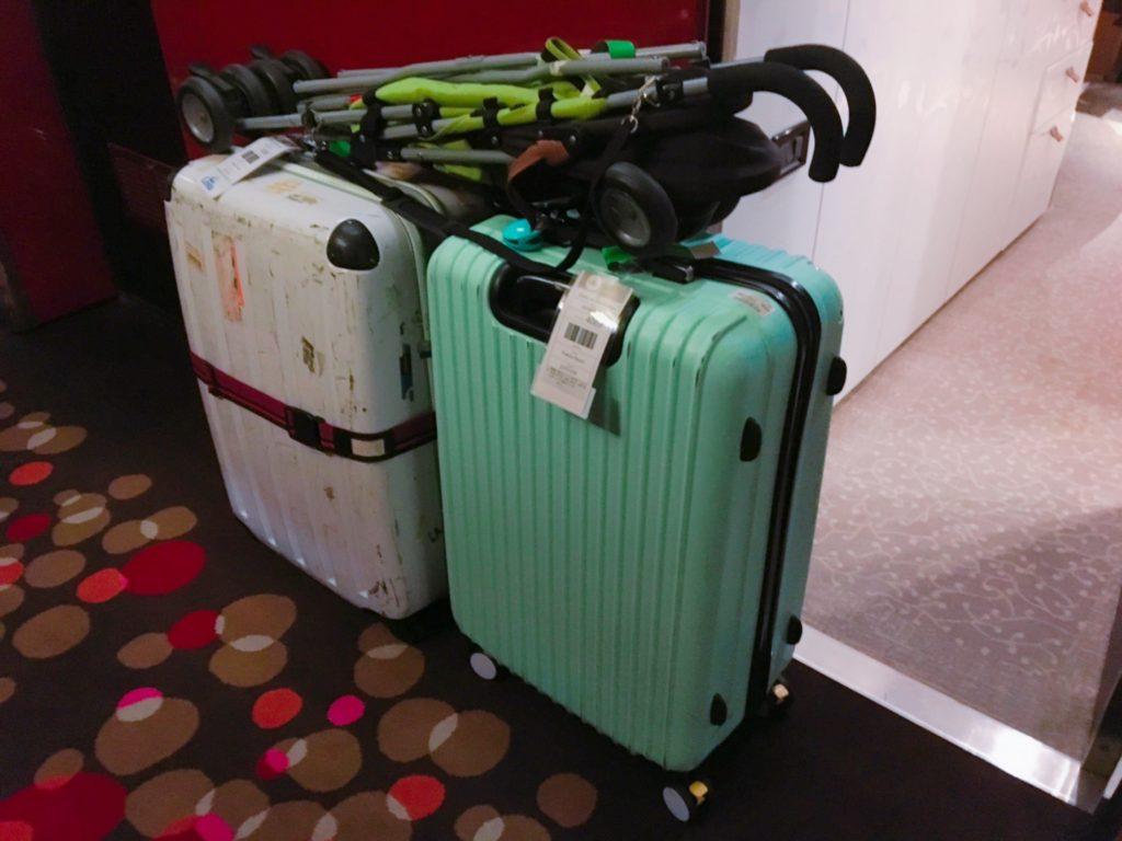 コスタクルーズ 下船 荷物 スーツケース 準備