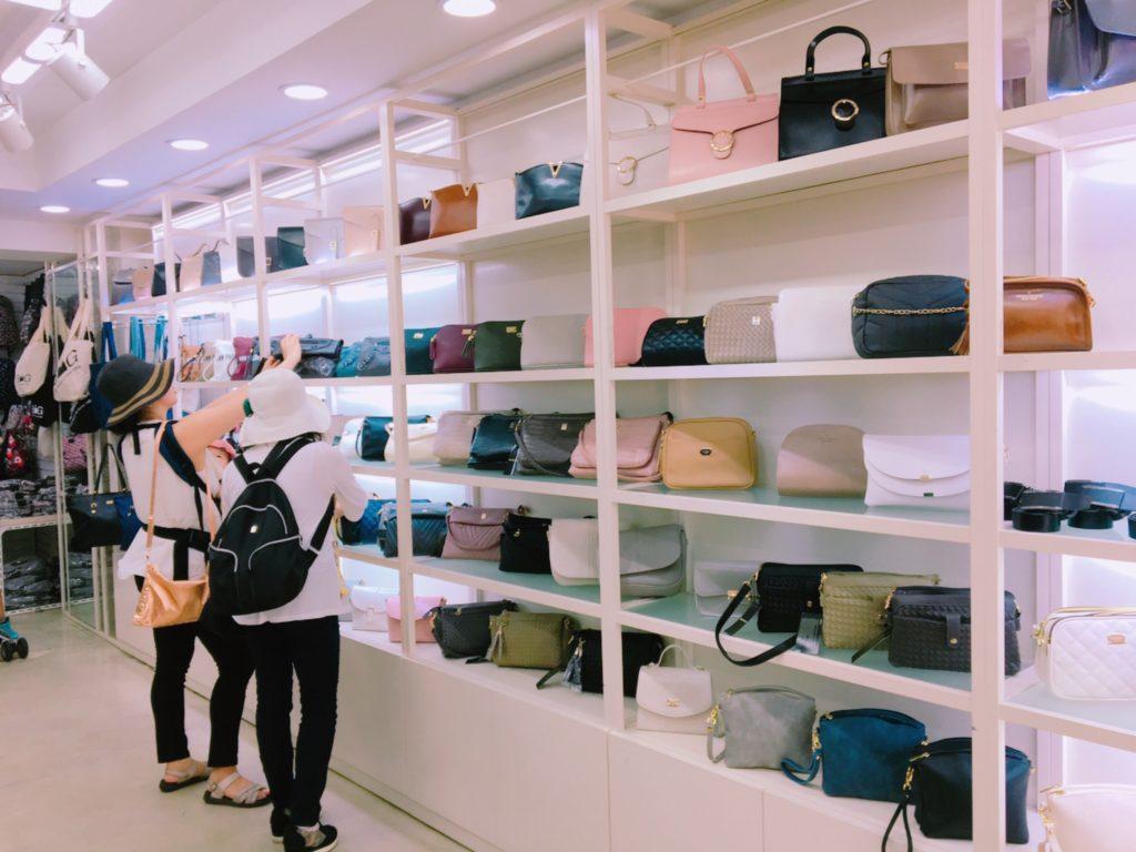 釜山 観光 買い物 ショッピング 鞄 バッグ