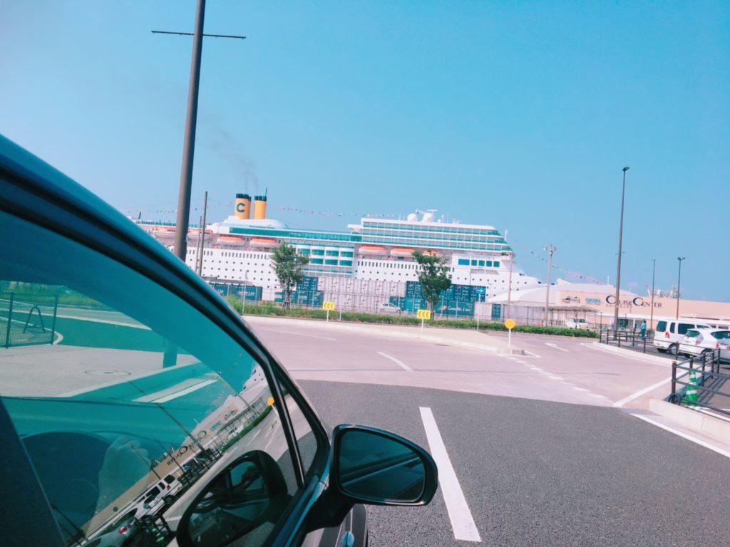コスタクルーズ 終了 下船 博多港