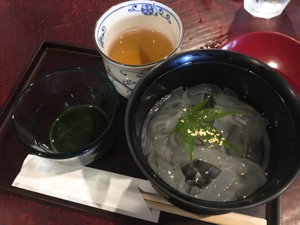 金沢 cafe カフェ 茶屋街 座敷 くずきり