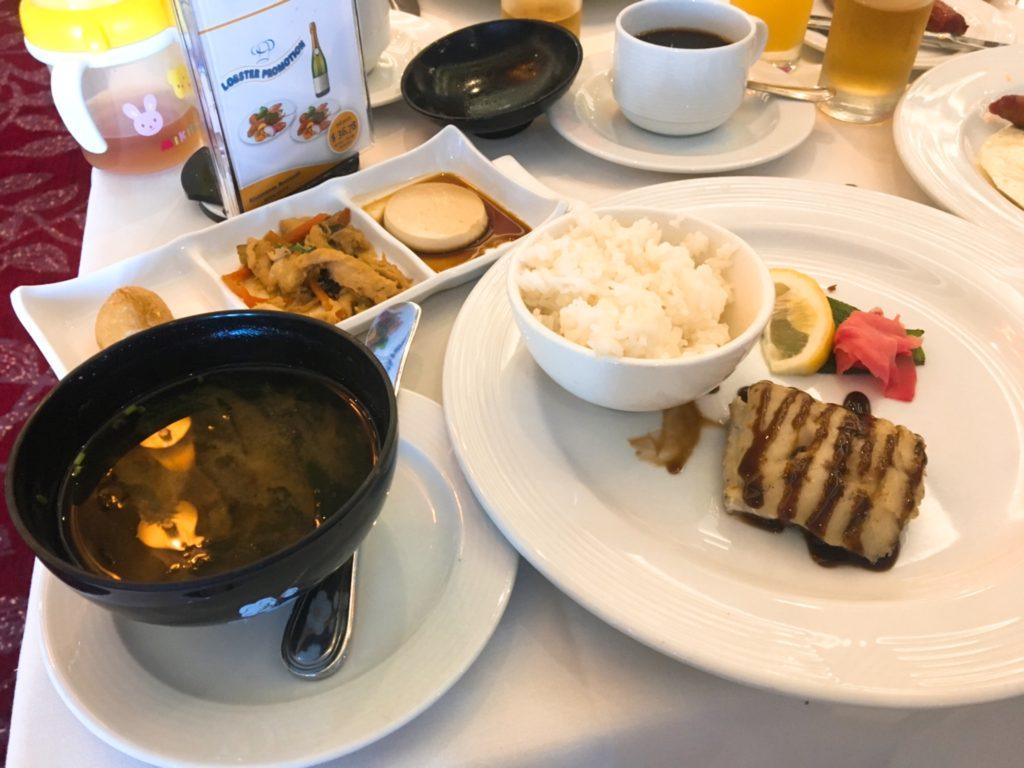 コスタネオロマンチカ 金沢 寄港 朝食 レストラン ご飯 食事