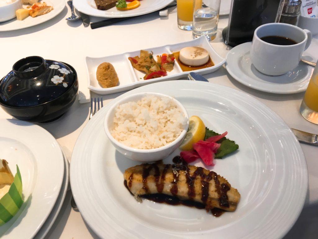 コスタクルーズ 朝食 和食 レストラン