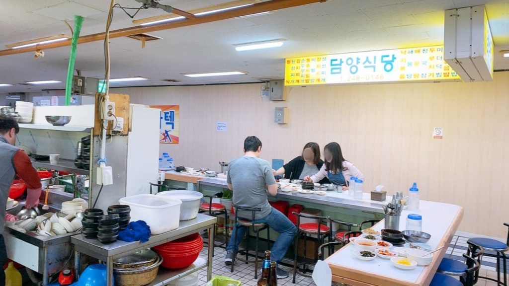 プサン ナンポ チャガルチ市場 朝食 食堂