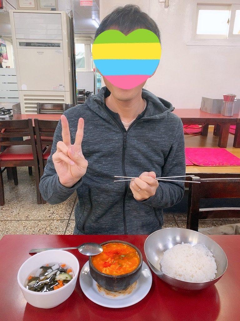 釜山 南浦 南浦洞 国際市場 スンドゥブチゲ チゲ鍋