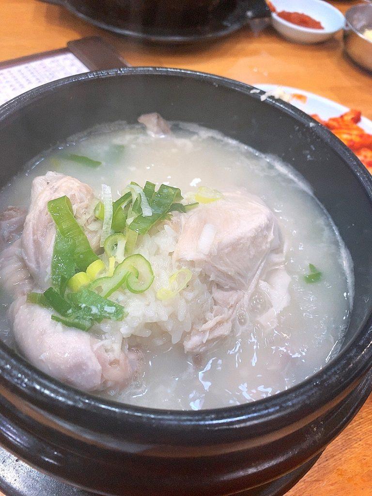 韓国 釜山 参鶏湯 韓国料理 オススメ 南浦洞