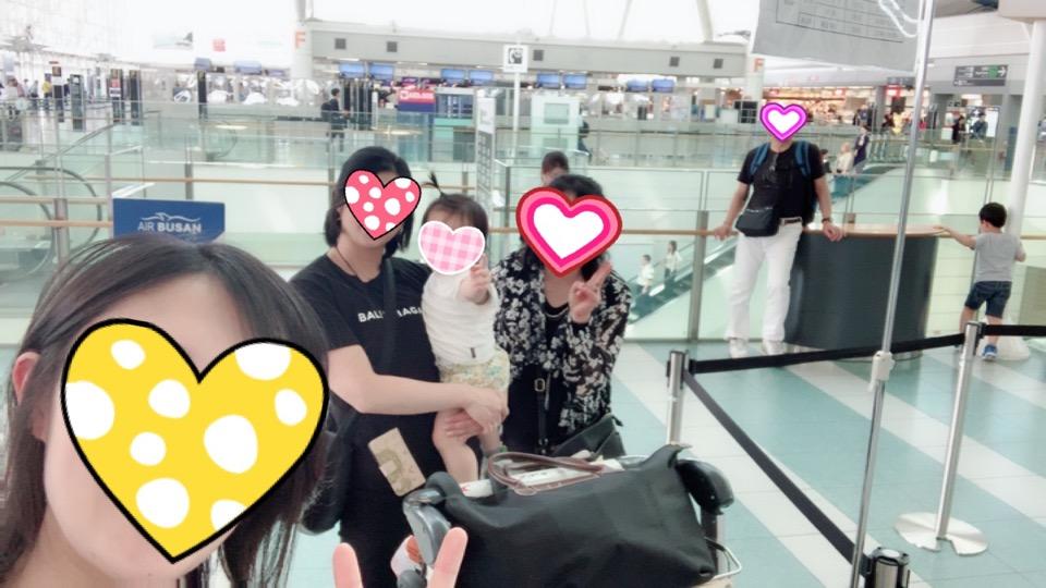 エアプサン 福岡空港 チェックイン