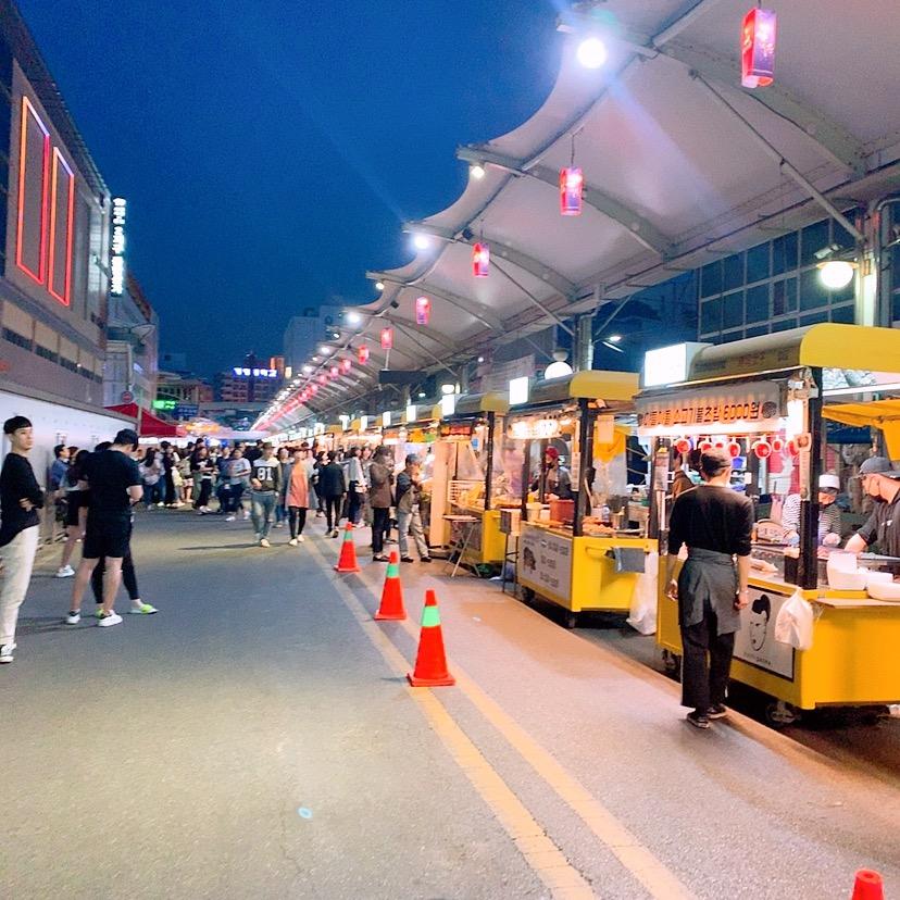 大邱 韓国 西門市場 大邱 観光地 ご飯