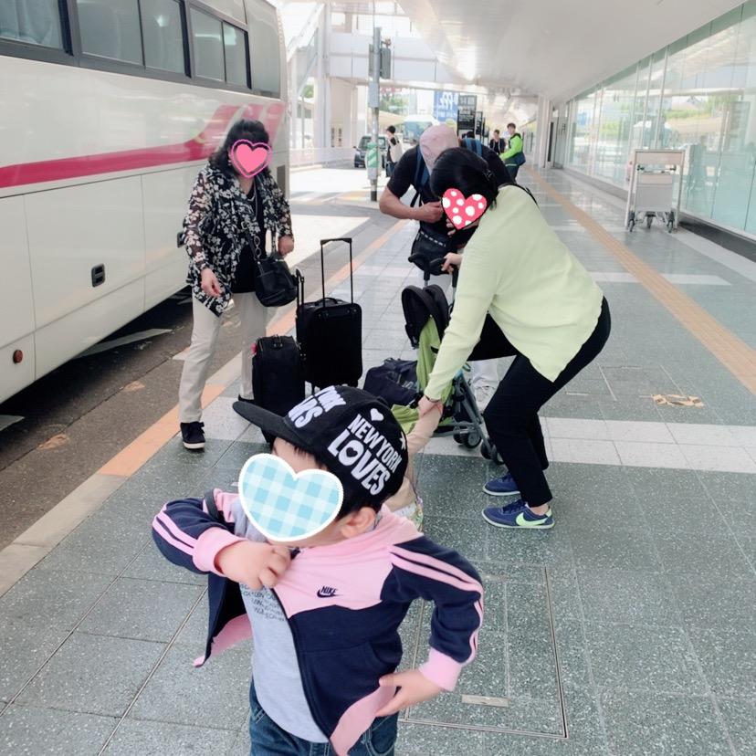福岡空港 国際線 FUKUOKAAIRPORT 西鉄バス