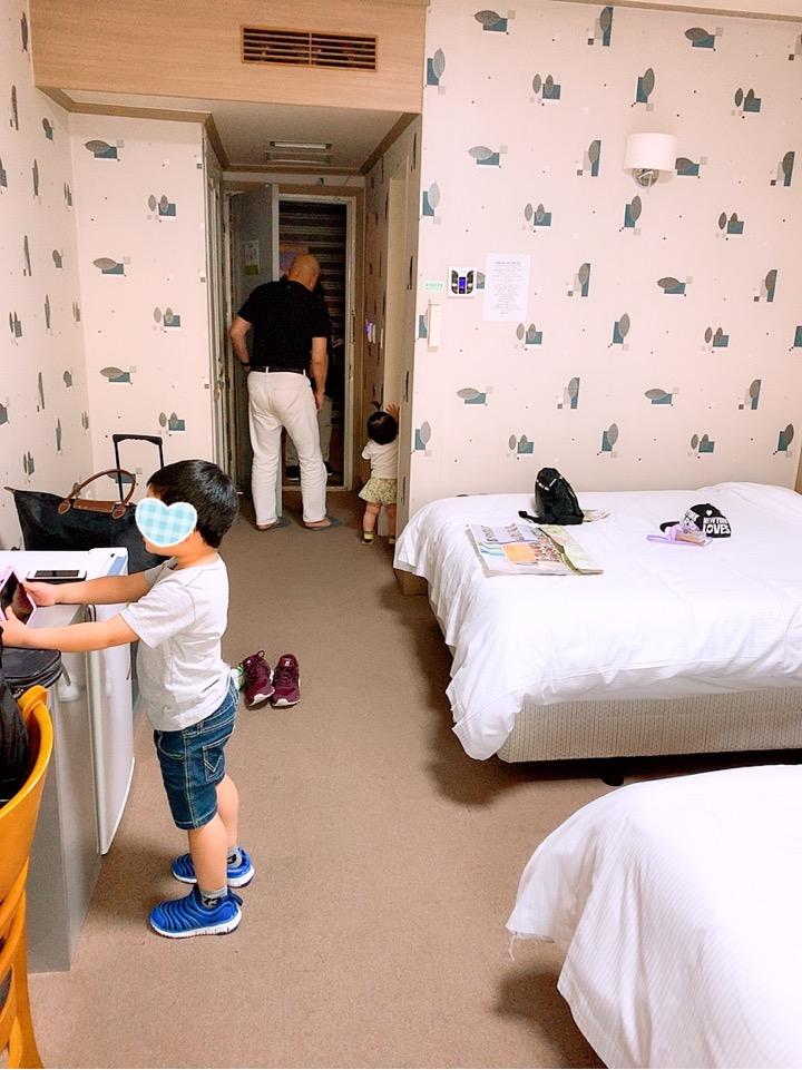 大邱 ホテル クリスタルホテル ホテルクリスタル テグ 子連れ 旅行