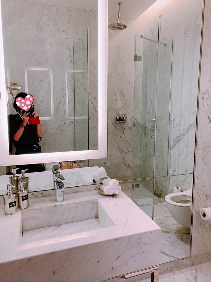 イスタンブール新空港 トルコ 空港 ラウンジ シャワールーム シャワー