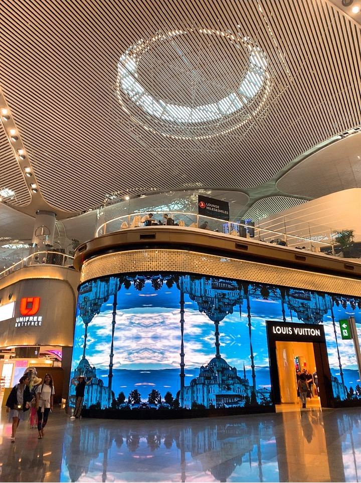 イスタンブール新空港 ラウンジ 場所 イスタンブール空港