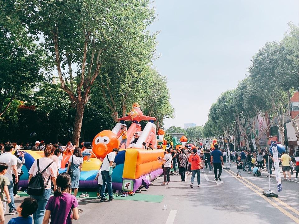 テグ 東城路 カラーフェスティバル カラフルフェスティバルスティバルカラフルフェスティバルスティバル