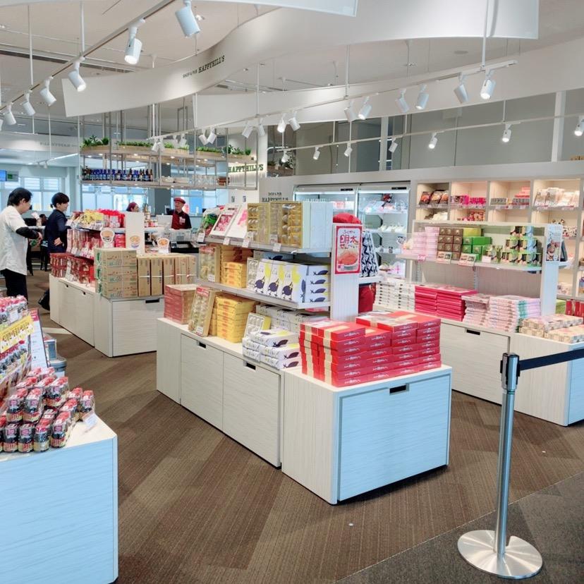 福岡空港 国際線 新しい お店 お土産屋さん お土産