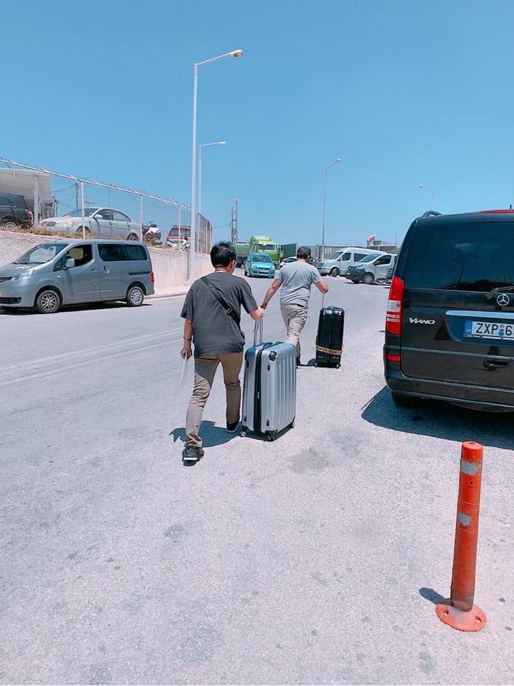送迎 空港 ホテル サントリーニ ギリシャ 空港
