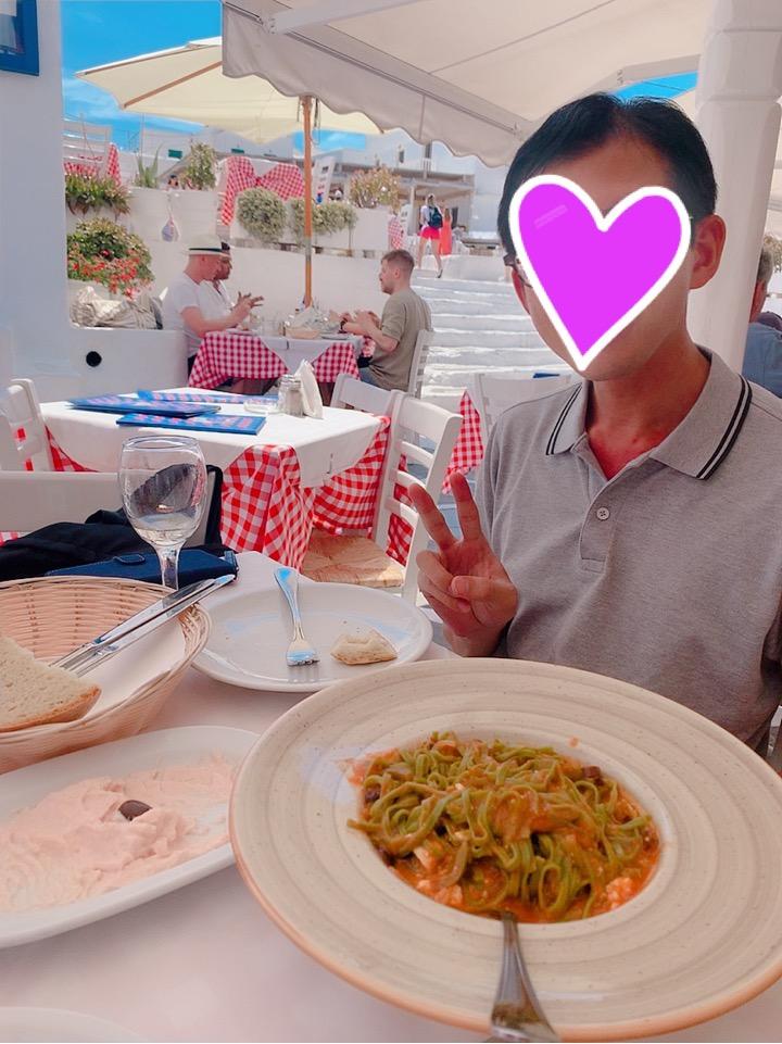 ミコノス島 お勧め ギリシャ料理 レストラン