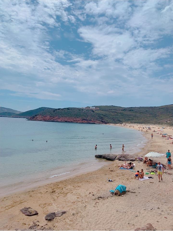 Agios Sostis Beach 行き方 静かなビーチ 穴場