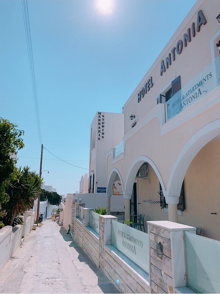 アントニア アパートメンツ サントリーニ島 ホテル 安い
