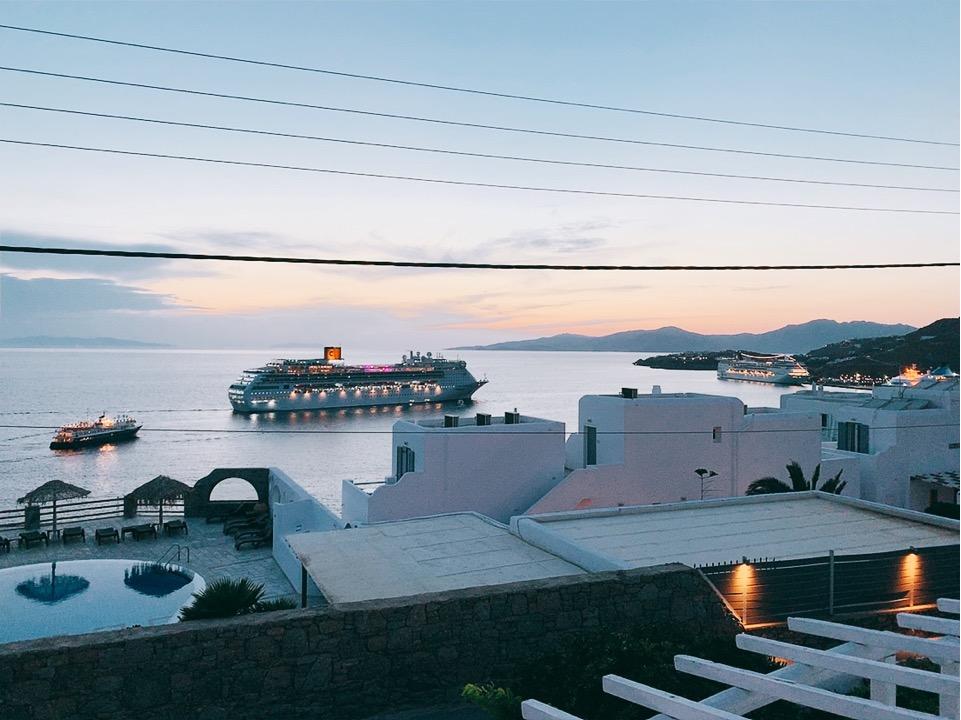ホテル タグ― 景色 ミコノス島 ホテル おすすめ