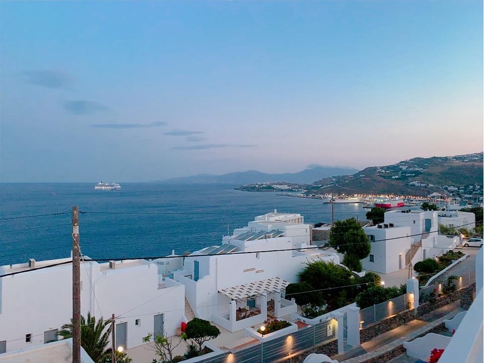 ギリシャ ミコノス島 ホテル 景色 おすすめ