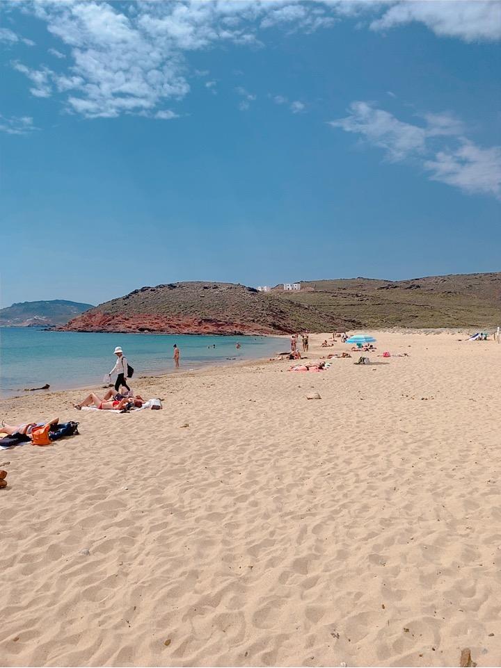ミコノス島 海 おすすめ 海水浴