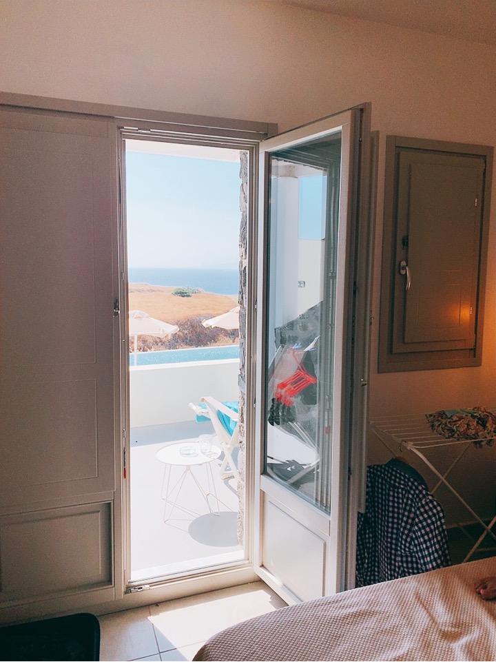ホテル おすすめ イア サントリーニ島 ギリシャ
