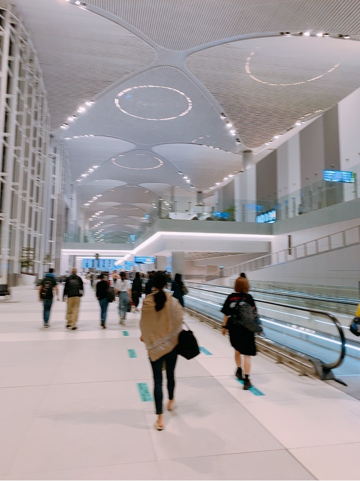 イスタンブール新空港 イスタンブール 空港 広い