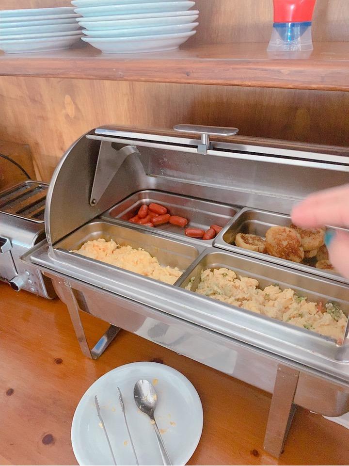 ホテル ミコノス島 Hotel Tagoo 朝食