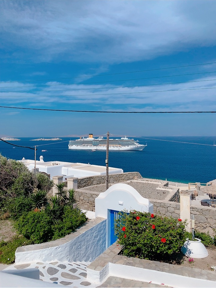 ミコノス島 ホテル おすすめ 景色