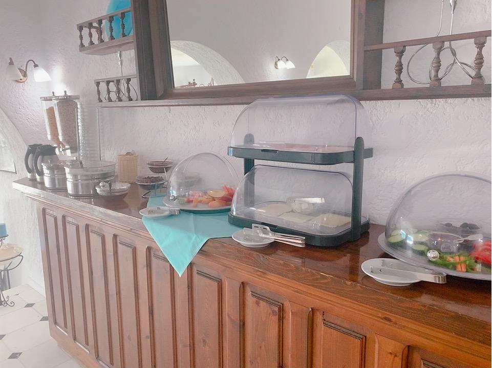 ホテル ミコノス タグ― 朝食 ごはん