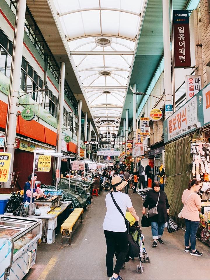 大邱 西門市場 観光 旅行記 家族旅行 daegu 大邱 市場