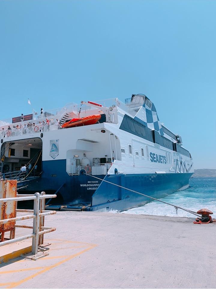ミコノス ミコノス島 港 ギリシャ