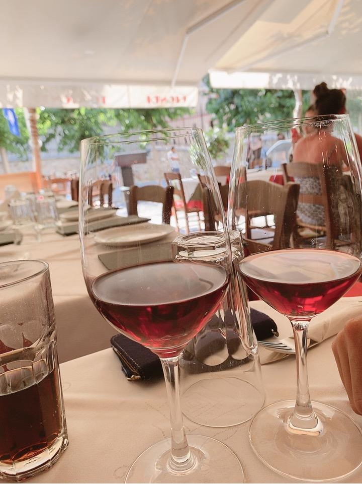 ギリシャ料理 ランチ お勧め アテネ ワイン