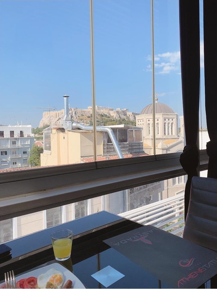 パルテノン神殿 景色 見える ホテル