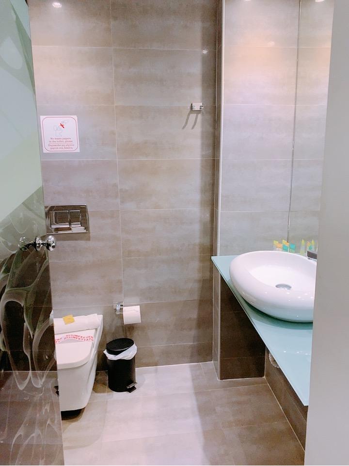 アテネ ホテル バスルーム 観光しやすい